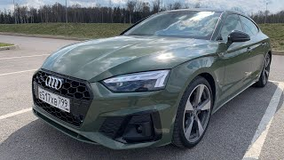 Сел в Audi A5 Fastback - втопил