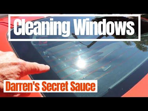 Car Window Cleaning: Darren's Window Cleaning Secret