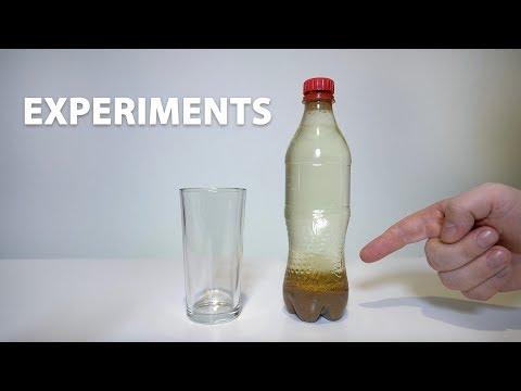Coca Cola Milk Experiments