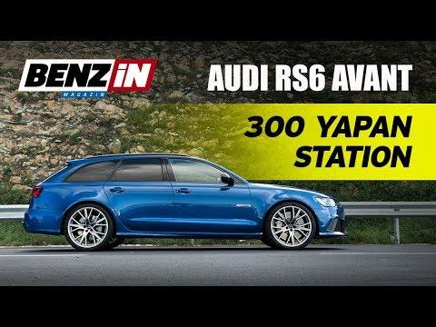 Audi RS6 Avant Performance test sürüşü 2017 | 300 km/s hıza çıktık | Launch Control yaptık