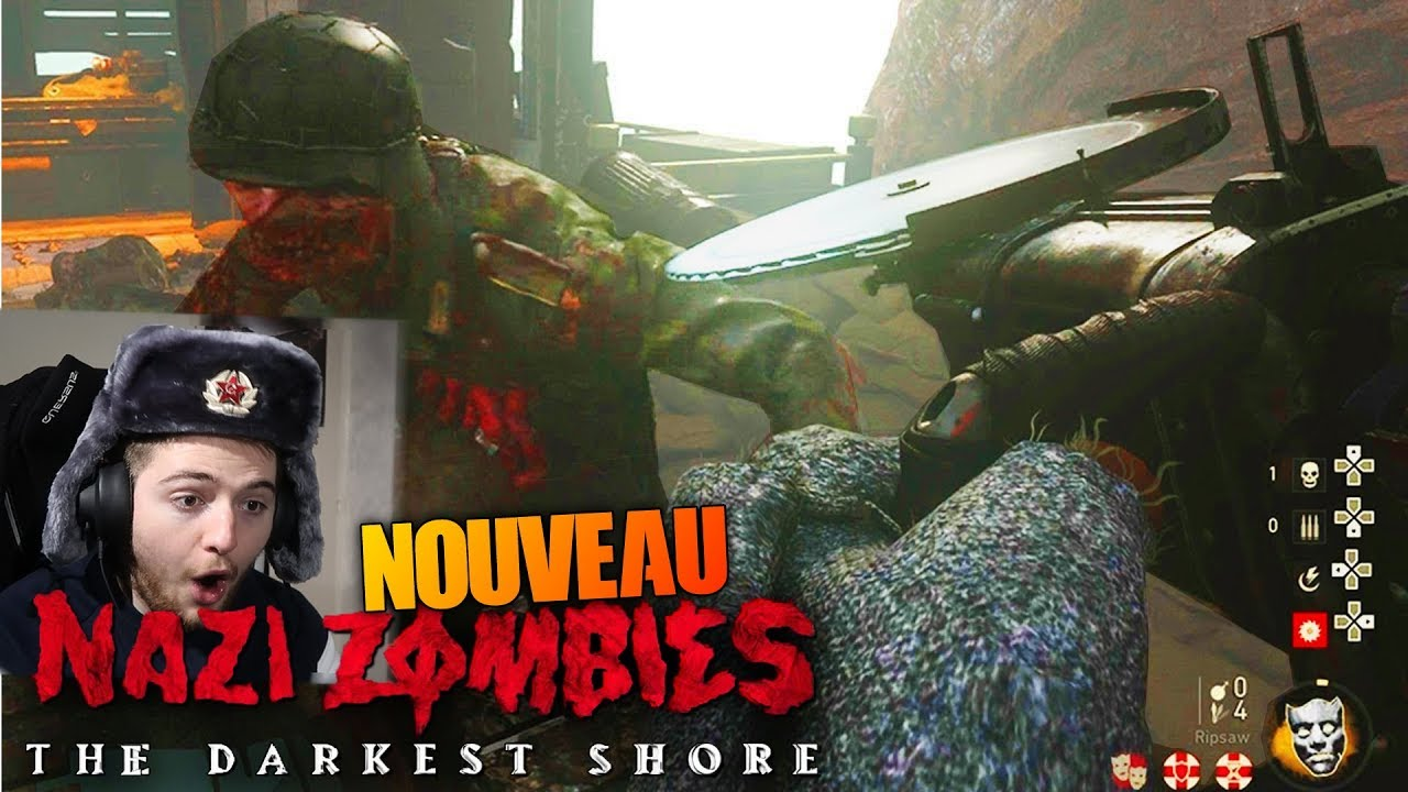 zombies the darkest shore gameplay fr call of duty ww2 youtube
