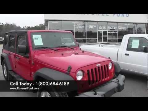 2007 jeep wrangler jk unlimited x review charleston suv videos for sale ravenel ford youtube. Black Bedroom Furniture Sets. Home Design Ideas