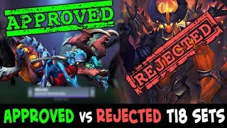 APPROVED vs REJECTED TI8 sets — WORST Collector's Cache