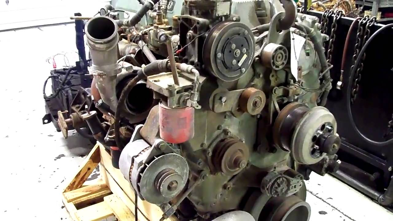 Used Detroit Diesel Series 60 DDEC 3 12 7L YouTube