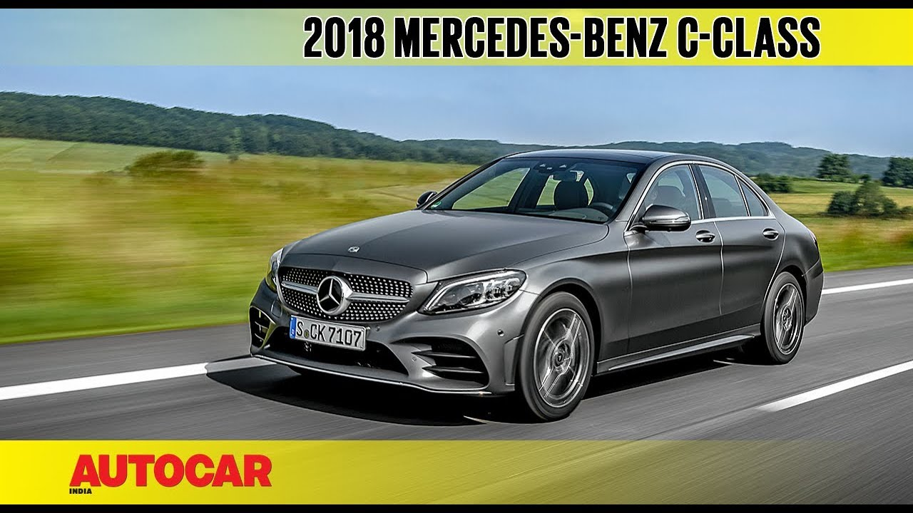 c1bf4833ece 2018 Mercedes-Benz C-class facelift | First Drive Review | Autocar India