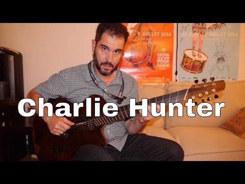 Interview Charlie Hunter au Festival de Jazz de Montréal