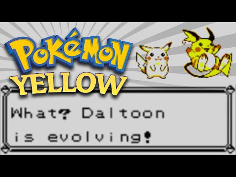 Pokémon Yellow (3DS) - Evolving Pikachu