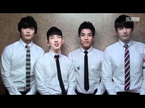 2AM's MSG for 714 Beijing Kpop Concert