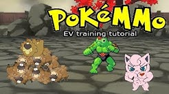 How to EV train every stat fast! • PokeMMO Tutorial •
