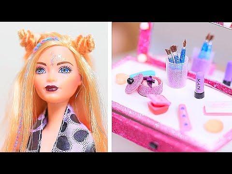 12 DIY Make-Up Miniversionen, Die Funktionieren / Verrückte Tricks Für Deine Barbie