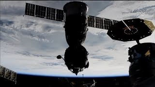 Soyuz MS-09 undocking and departure