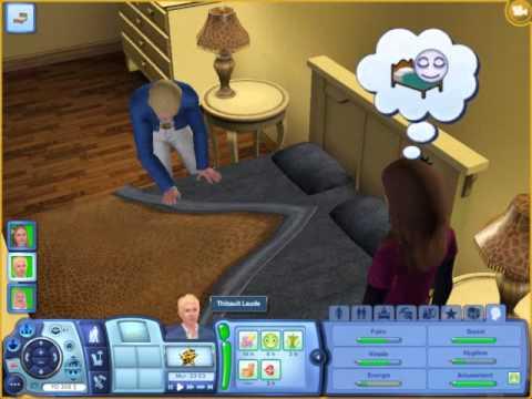 Sims3 astuces essayer de faire un bb facilement partie 2 - YouTube