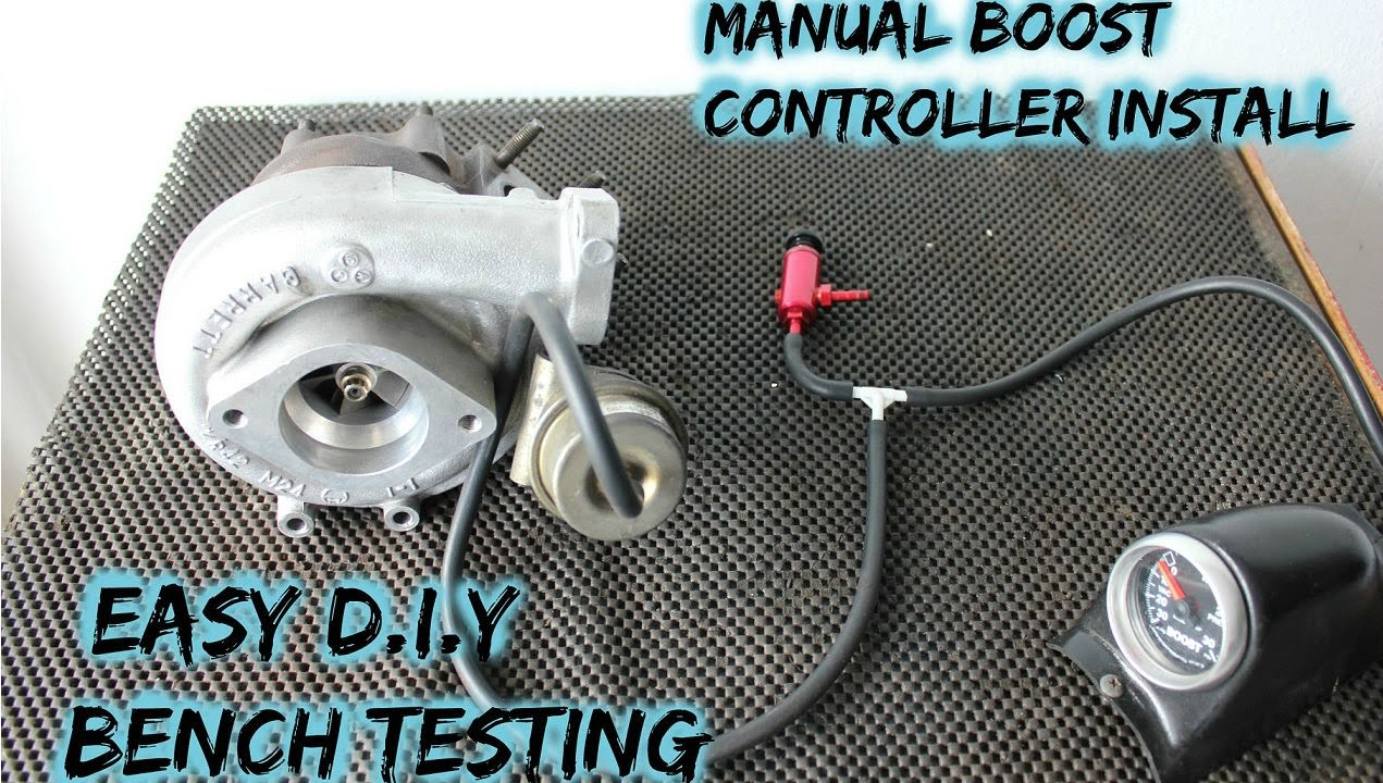 Manual Boost Controller Install  Part 2 Internal Actuator
