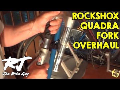 RockShox Quadra Fork Service - Tear Down/Clean/Lube/Rebuild