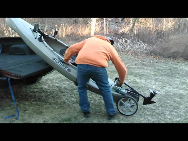 Heritage Featherlite Kayak modifications