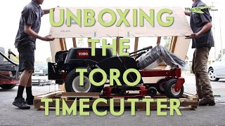 Unboxing the TORO Timecutter - MainStreetMower