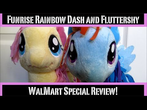 Funrise Fluttershy And Rainbow Dash Plush Review (plus Grooming Tips!)