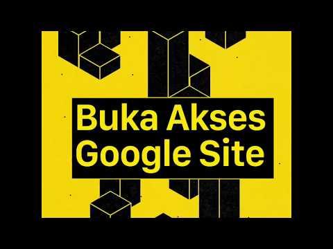 Buka Akses Google Site dan Kirim Link