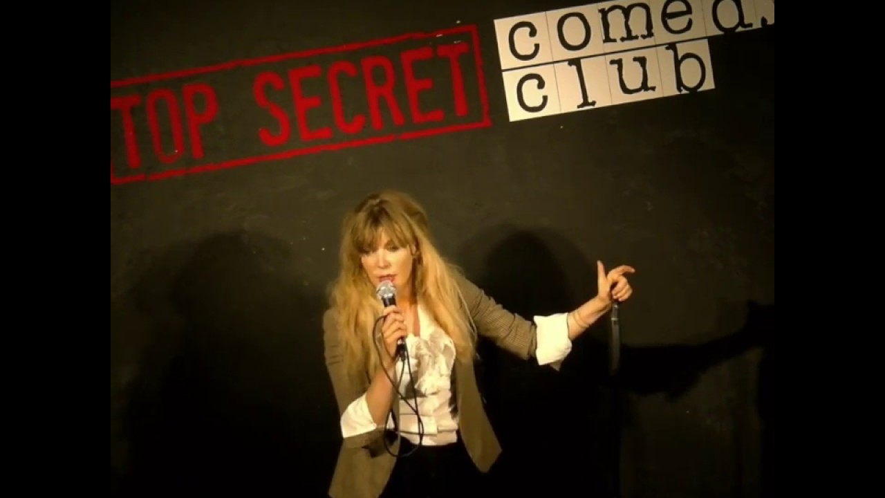Aideen McQueen Stand Up Live at Top Secret Comedy Club.