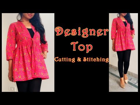 Designer Top Cutting & Stitching | DIY Latest Top Design