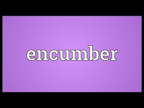 Header of encumber