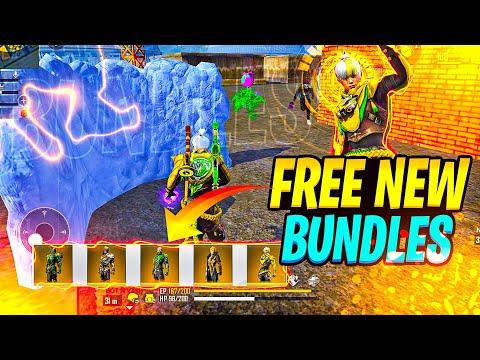 How To Get Free Bundles😍 Rampage New Dawn - Garena Free Fire