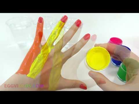Учим цвета на Английском  (Learn colors in English) 2016
