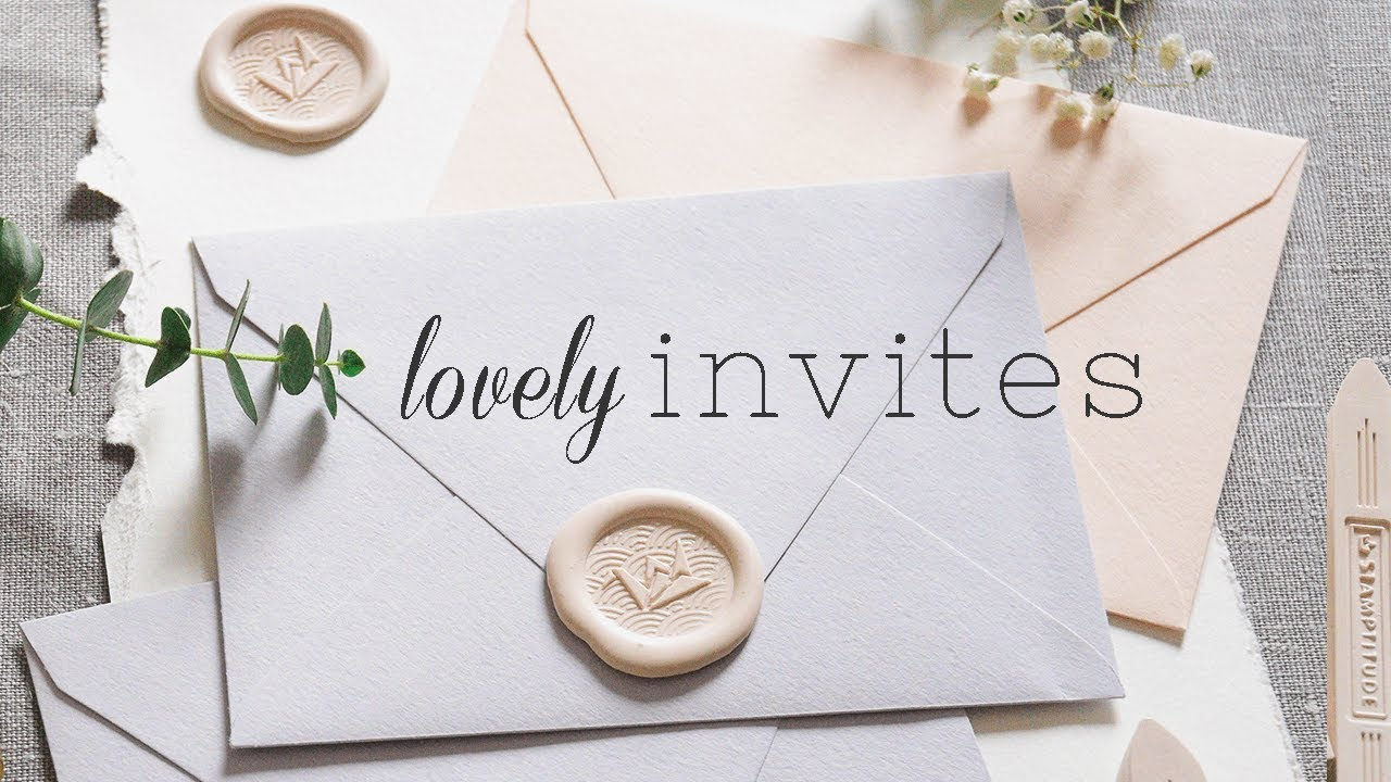 How To Make Wax Seals In Bulk For Snail Mail Invites