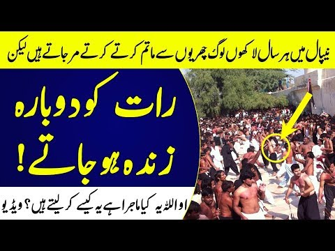 Unbelievable Muharram Miracle In Nepal Told By Zameer Akhtar Naqvi | Islamic Solution