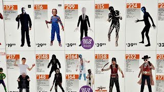 HALLOWEEN PARTY CITY COSTUME WALL WALK THROUGH 2018