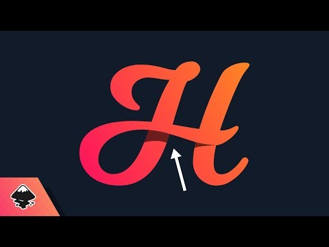 Inkscape Tutorial: Letter Shadowing