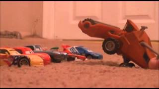 Lighting Mcqueen Goes Tractor Tipping With Cars 2 Characters