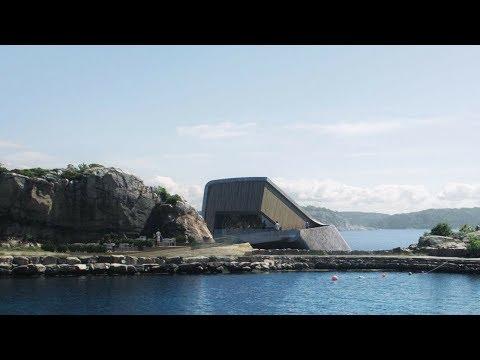 Underwater Restaurant in Norway