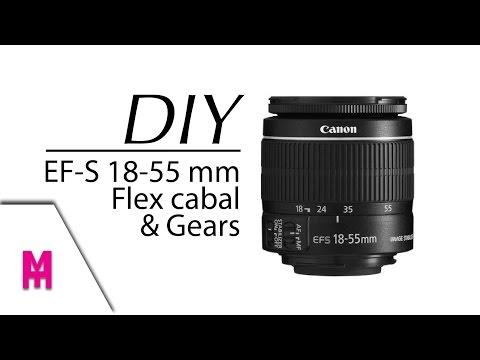 ซ่อม Lens EF-S canon 18-55 ง่ายๆ จริงหรอ ? เปลี่ยนสายแพร&เฟือง(โคตรละเอียด)อาการอ่านด้านล่าง