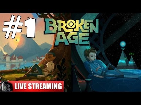 Broken Age Walkthrough Part 1 Gameplay Let's Play Playthrough Live Stream 1080p Shay/Vella Act 1