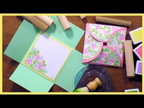 Easy Petal/Square Flap Cards // Limited Supplies!
