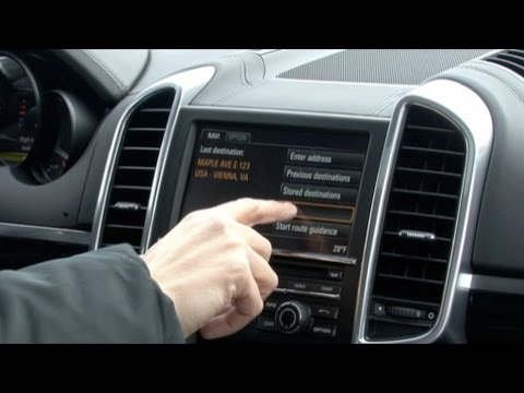 2011 porsche cayenne interior features youtube. Black Bedroom Furniture Sets. Home Design Ideas