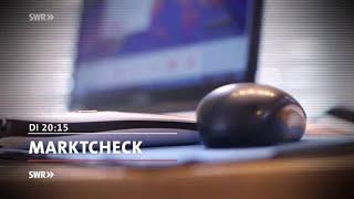 """""""Marktcheck"""", 24.10.2017, 20:15 Uhr,  SWR Fernsehen"""
