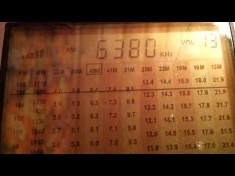 6380 KHz  Abu Dhabi radio (NL)