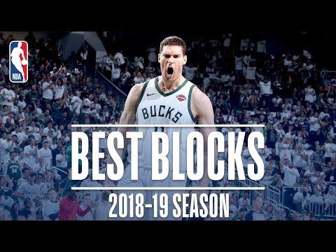 Brook Lopez's Best Blocks | 2018-19 Season | #NBABlockWeek