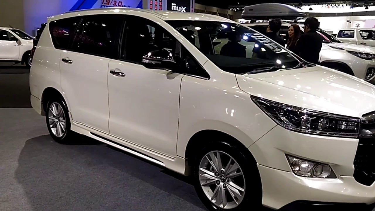All New Kijang Innova Spec Grand Avanza Grey A Quick Look At The 2017 Toyota Thailand Specs Youtube