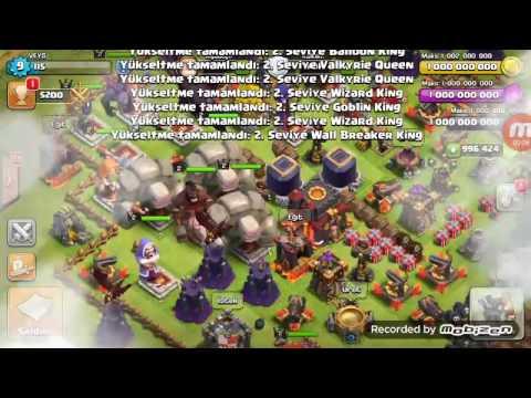 Clash of clans 1000 golem