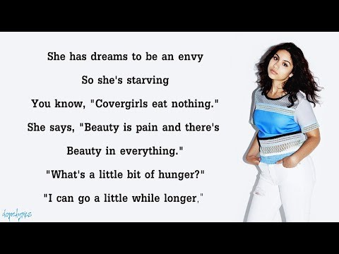 Alessia Cara  Scars To Your Beautiful Lyrics