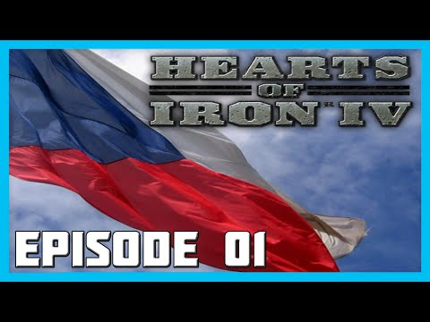 Hearts of Iron 4 Commie Czechs Gameplay Ep.1 - Little Entente || Hearts Of Iron 4 Lets Play