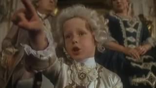 Маленький Моцарт. При императорском дворе (отрывок из фильма Amadeus 1984 г)