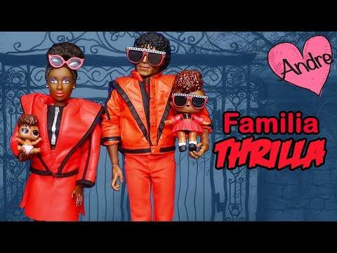 La familia Thrilla va al Bosque de Espantos | Muñecas y juguetes con Andre para niñas y niños
