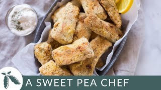 Salmon Fish Sticks | Make It Healthy | A Sweet Pea Chef