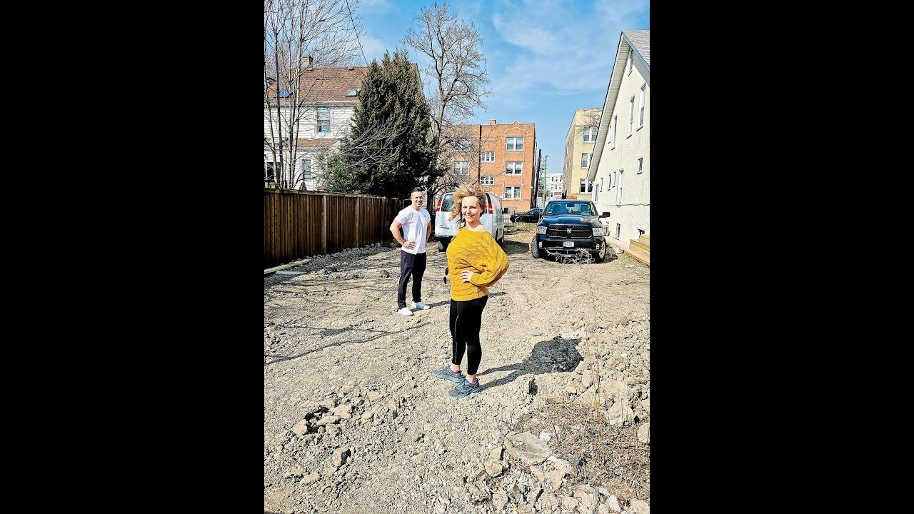 Framing Progress on New Construction | Chicago Single Family Home