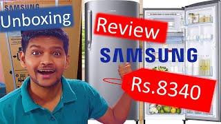 Samsung Refrigerator Unboxing amp Review Samsung 192 L 2 Star Direct Cool Single Door Refrigerator