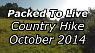 Country Hike   October 2014